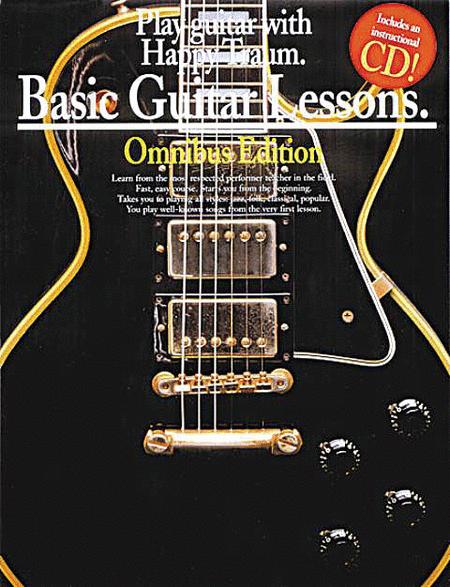 Basic Guitar Lessons Omnibus Edition