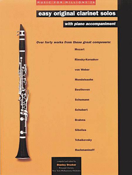 Easy Original Clarinet Solos