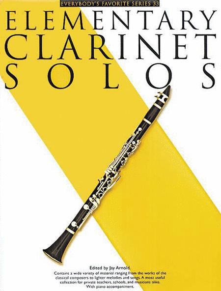 Elementary Clarinet Solos