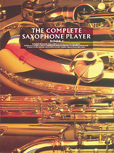 the complete saxophone player book 1 sheet music by raphael ravenscroft sheet music plus. Black Bedroom Furniture Sets. Home Design Ideas