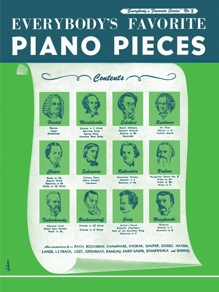 Everybody's Favorite Piano Pieces