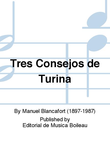 Tres Consejos de Turina