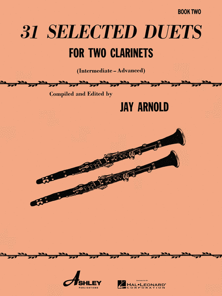 31 Selected Duets for Two Clarinets