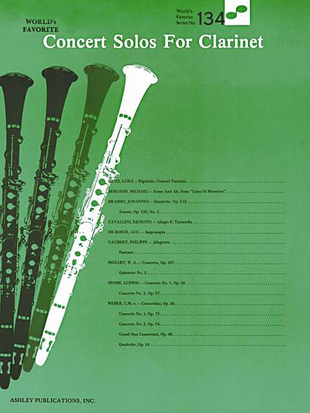 Concert Solos for Clarinet