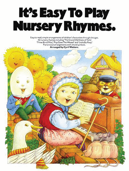 It's Easy to Play Nursery Rhymes