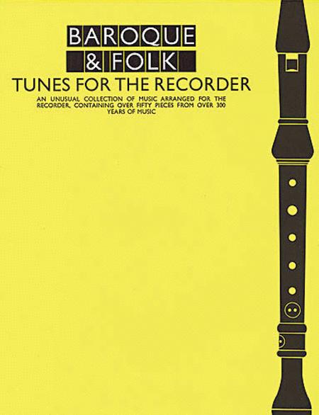 Baroque & Folk - Tunes for the Recorder