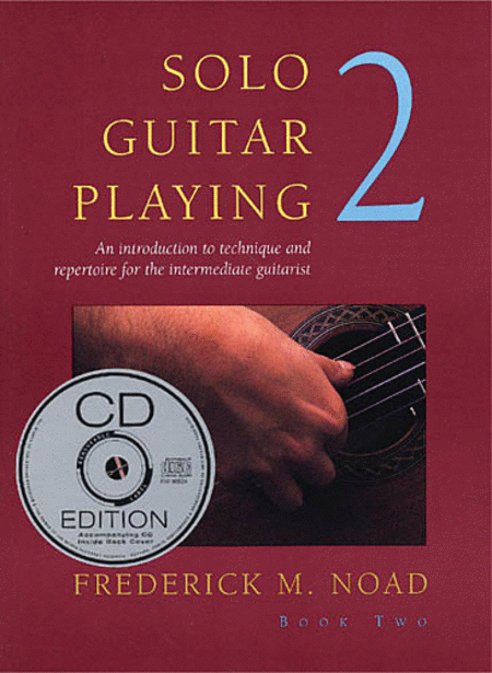 Solo Guitar Playing, Third Edition Book 2 - With CD