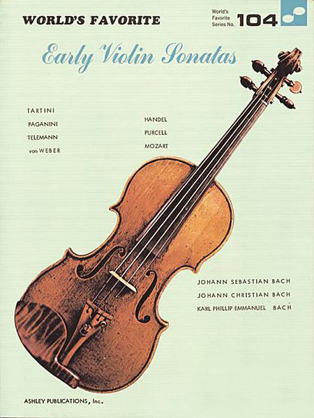 Early Violin Sonatas 104 Worlds Favorite