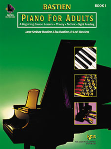 Bastien Piano For Adults - Book 1 (Book & CD)