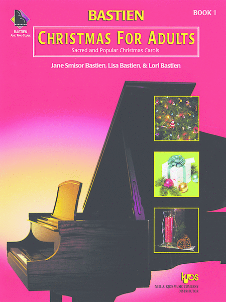 Bastien Christmas For Adults - Book 1 (Book & CD)