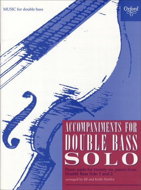 Accompaniments for Double Bass Solo