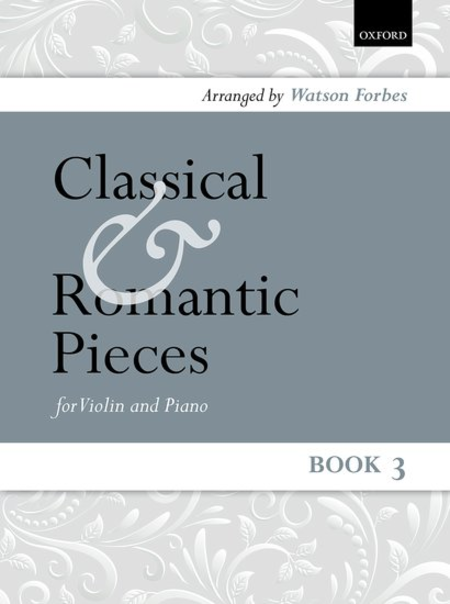 Classical and Romantic Pieces for Violin - Book 3