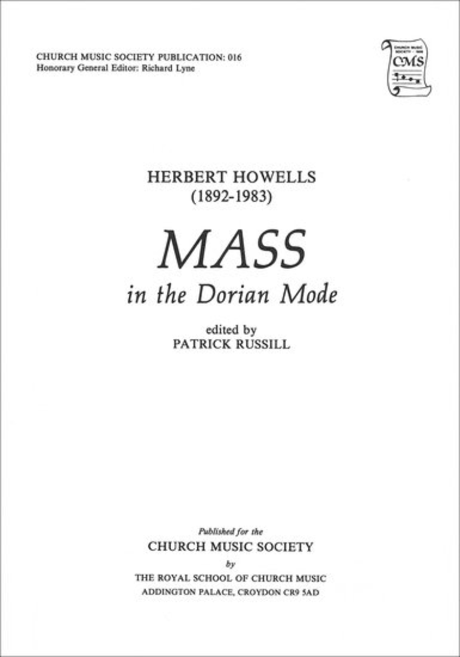 Mass in the Dorian Mode