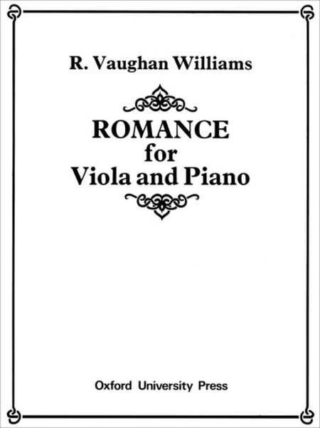 Romance for Viola and Piano