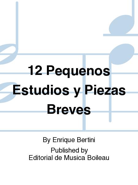 12 pequenos estudios y piezas breves sheet music by for Estudios pequenos