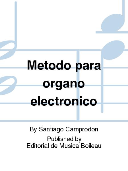 Metodo para organo electronico