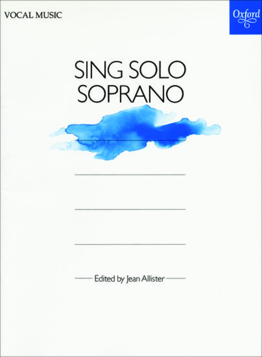 Sing Solo Soprano