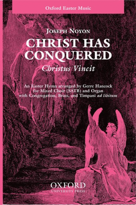 Christ has conquered (Christus Vincit)