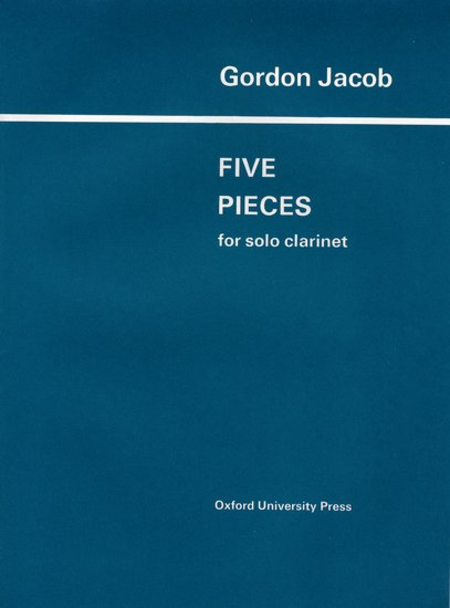 Five Pieces Solo Clarinet