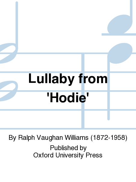 Lullaby from 'Hodie'