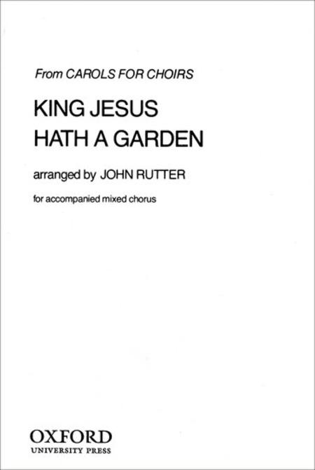 King Jesus hath a garden