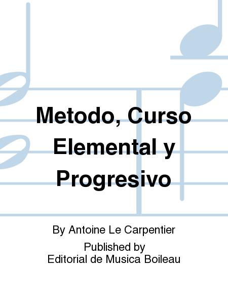 Metodo, Curso Elemental y Progresivo
