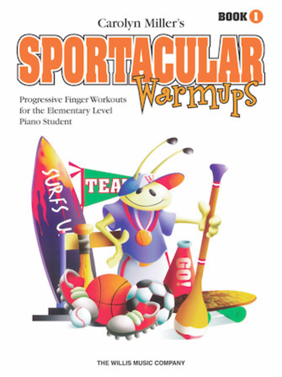 Sportacular Warm-Ups, Book 1