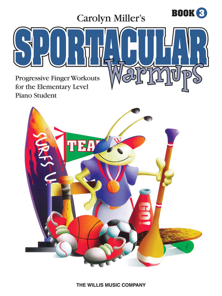 Sportacular Warm-Ups, Book 3