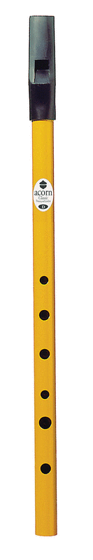 Acorn Pennywhistle in D (Yellow)