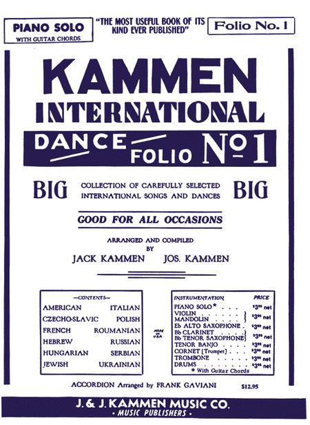 Kammen International Dance Folio No. 1