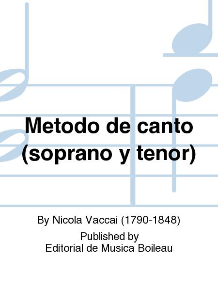Metodo de canto (soprano y tenor)
