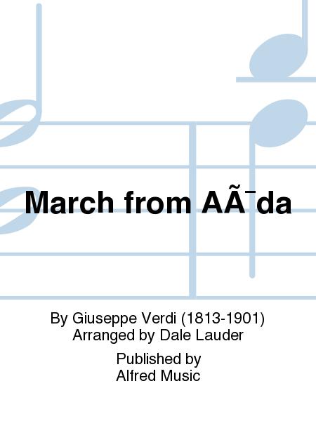 March from Aïda