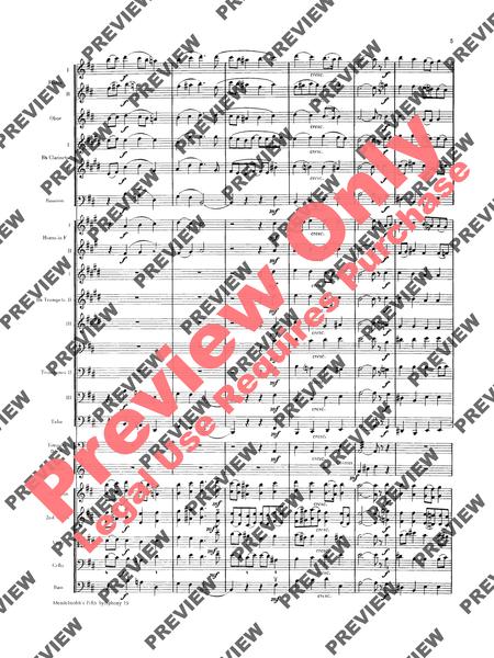 Mendelssohn's 5th Symphony