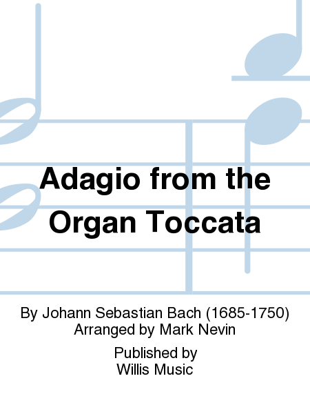 Adagio from the Organ Toccata