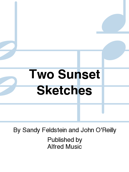 Two Sunset Sketches