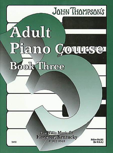 John Thompson's Adult Piano Course - Book 3