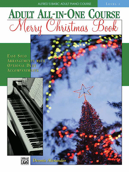 Alfred's Adult All-in-One Course - Merry Christmas Book (Level 1)