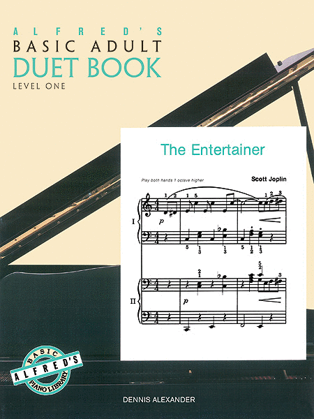 Alfred's Basic Adult Piano Course Duet Book, Book 1