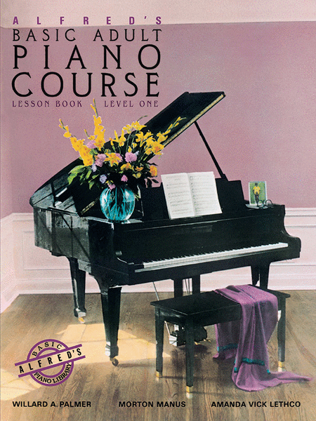Alfred's Basic Adult Piano Course - Lesson Book (Level 1)