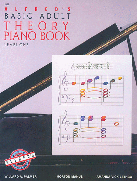 Alfred's Basic Adult Piano Course - Theory Book (Level 1)