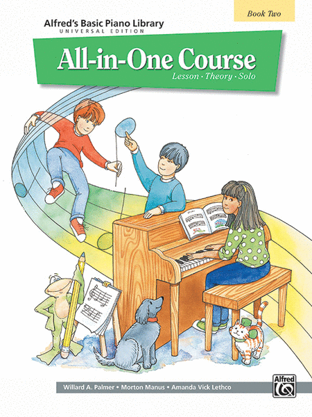 Alfred's Basic Piano Library All-in-One Course - Book 2 (Universal Edition)