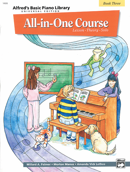 Alfred's Basic Piano Library All-in-One Course - Book 3 (Universal Edition)