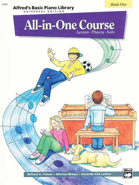 Alfred's Basic Piano Library All-in-One Course - Book 5 (Universal Edition)