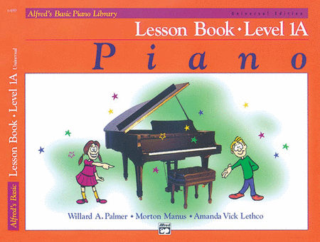Alfred's Basic Piano Course Lesson Book - Level 1A (Universal Edition)