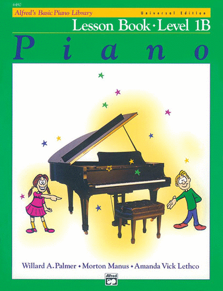 Alfred's Basic Piano Course Lesson Book - Level 1B (Universal Edition)