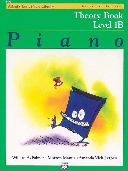 Alfred's Basic Piano Course Theory Book - Level 1B (Universal Edition)