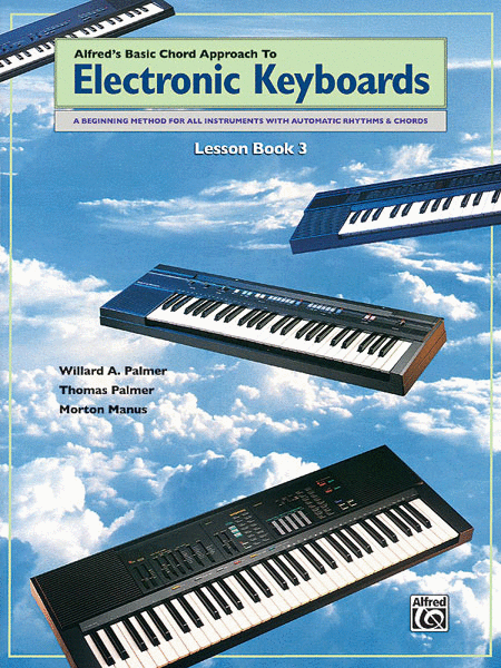 Chord Approach to Electronic Keyboards Lesson Book, Book 3
