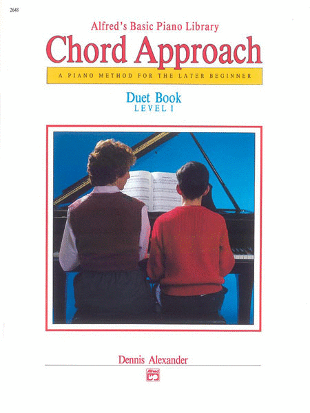 Alfred's Basic Piano Chord Approach Duet Book, Book 1