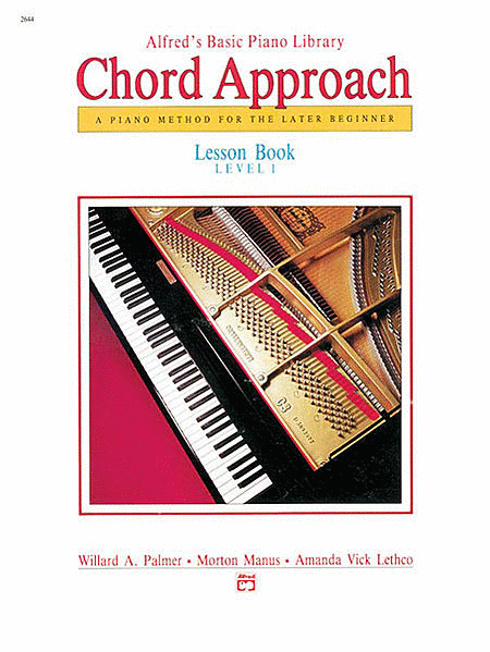 Alfred's Chord Approach - Lesson Book (Level 1)