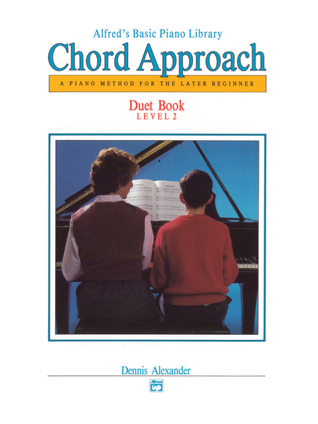 Alfred's Basic Piano Chord Approach Duet Book, Book 2